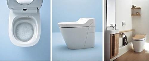 Matsushita organic toilet