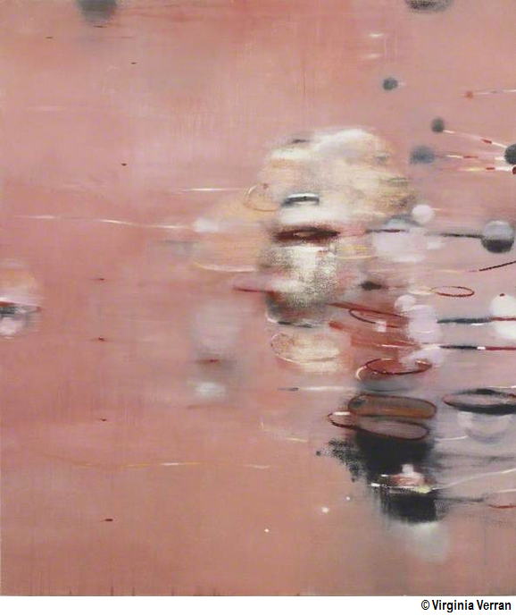 Pink painting no 1 - Virginia Verran