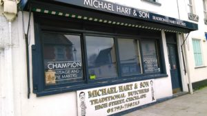 Michael Hart and Son butchers, Cricklade